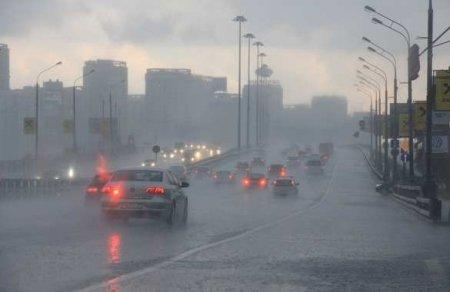 Москву ожидает сильнейший за 25 лет ливень