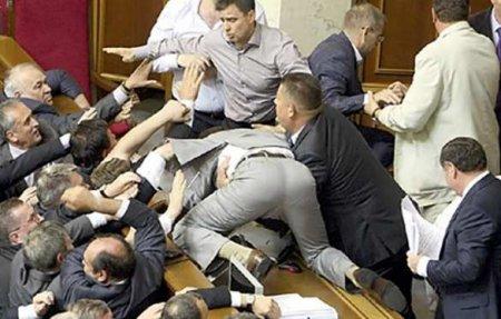 Массовая драка в Раде: соратник Зеленского предложил «расстрелять» оппозици ...
