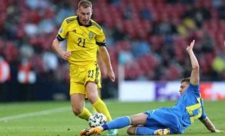Украина обыграла Швецию ивышла вчетвертьфинал Евро-2020