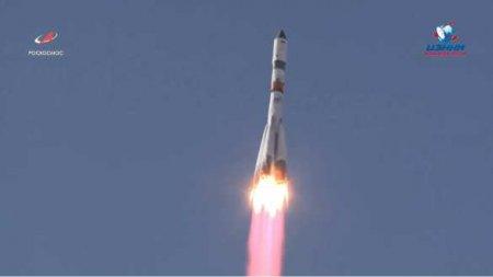 «Прогресс МС-17» стартовал сБайконура сподарками для космонавтов (ВИДЕО)