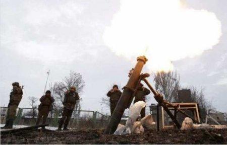 Армия ДНР понесла потери инаказала ВСУ ответным огнём