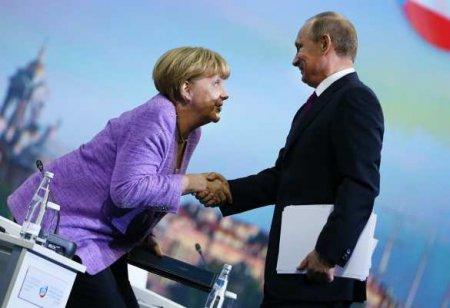 ВКремле рассказали оразговоре Путина иМеркель