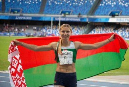 Беглая белорусская спортсменка дала пресс-конференцию вВаршаве (ВИДЕО)
