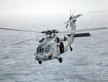 Вертолёт ВМС США рухнул вводу уберегов Калифорнии