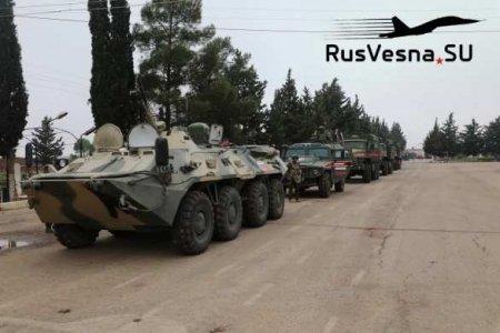 СРОЧНО: Спецназ России вошёл в зону боёв у границы Израиля и Иордании, враги сдают оружие (ФОТО)