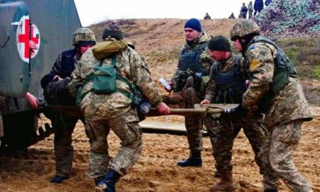 Горит земля подногами оккупантов — ВСУнаДонбассе продолжают нести небоевые потери (ФОТО)