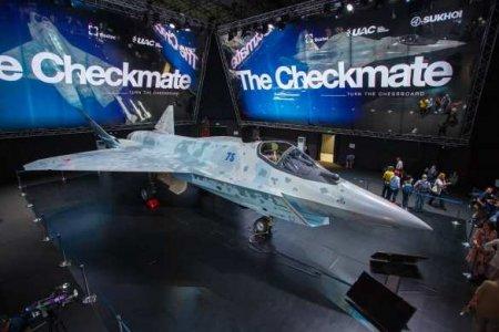 Американцы назвали преимущества российского Су-75 Checkmate