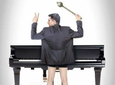А с роялем был бы аншлаг: Сеть отреагировала на выступл ...