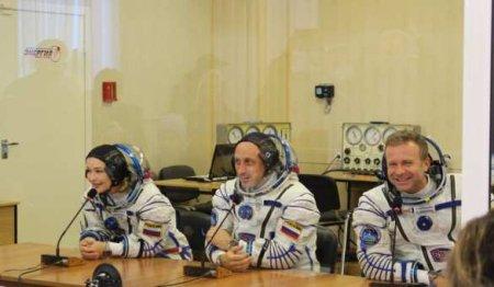 Первый в мире киноэкипаж готов лететь к МКС (ФОТО)